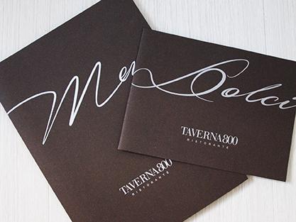 Taverna800 - menu