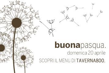 taverna800 - menu di pasqua
