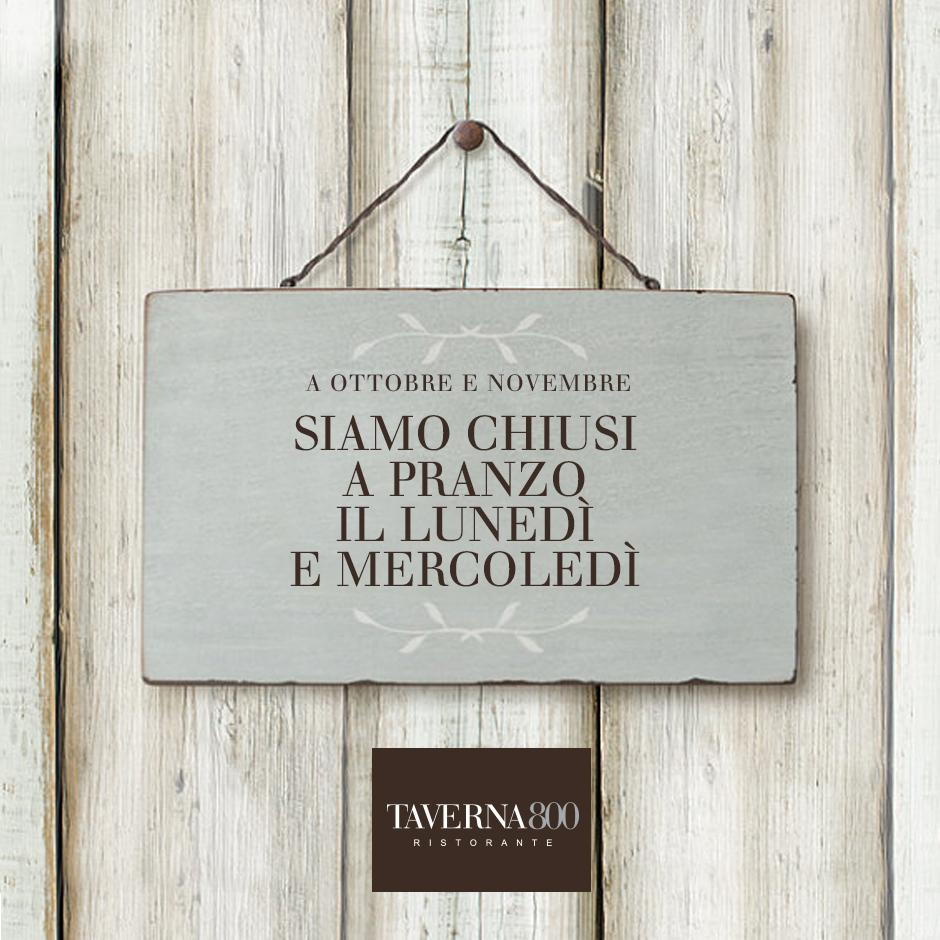 Taverna 800 - Rstorante Bergamo
